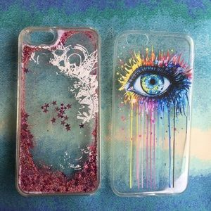 Accessories - Bundle of 2 cases for Iphone 6